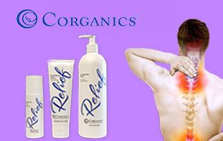 Corganics Relief Cream Review | Natural Alternative Pain Management Creams